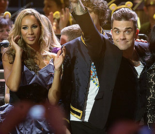 Robbie Williams and Leona Lewis lined up for duets