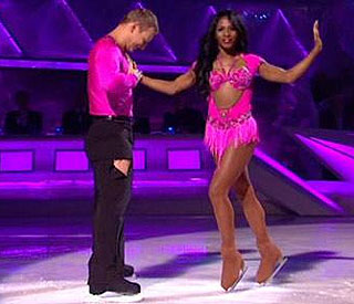 Sinitta is first star to be voted off 'Dancing On Ice'