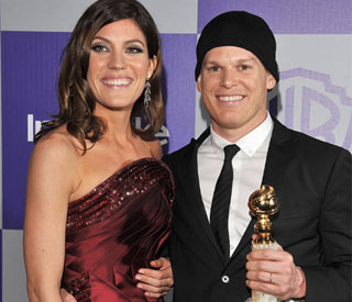 Michael C Hall says 'he's doing fine' at Golden Globes
