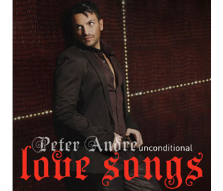 Peter Andre: new album 'just in time for Valentine's Day'