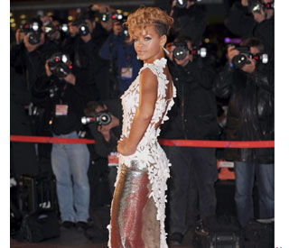 Red hot Rihanna is a winner at Cannes music awards