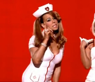 Mariah Carey dresses up as racy nurse in new video