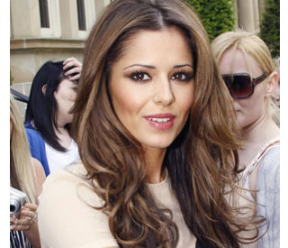 Cheryl Cole offers support to Wayne Bridge