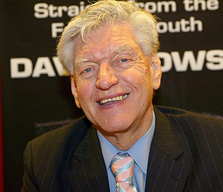 Darth Vader actor  David Prowse in cancer remission