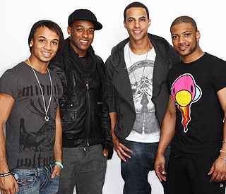 Vivienne Westwood asks JLS' Marvin to model