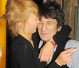 Katia Ivanova 'on verge of taking back Ronnie Wood'