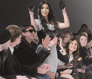 Foxy Kim Kardashian takes centre stage at NYFW