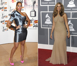 Detox helps Leona Lewis slim from a 14 to size ten