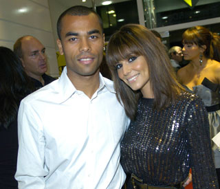 Separated Ashley Cole still wearing wedding ring