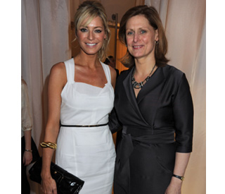 Tess Daly dines out with Sarah Brown