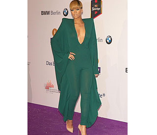 Rihanna turns heads with seductive jumpsuit at ECHOs