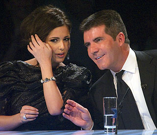 Support for Cheryl Cole from Simon Cowell and Posh