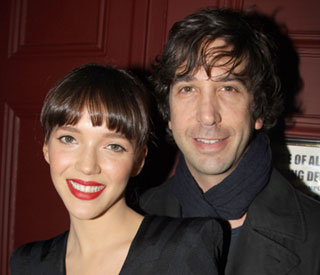'Friends' star David Schwimmer engaged to British love