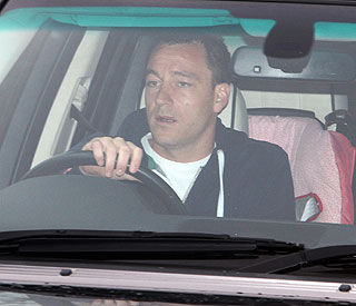John Terry breathalysed after breaking guard's leg