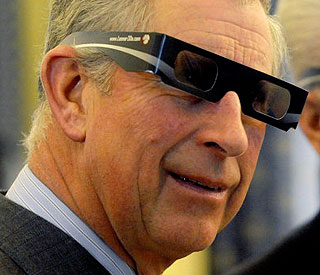 Life through a lens: Prince Charles' 3D specs