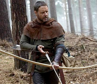 Russell Crowe's Robin Hood has East Midlands accent