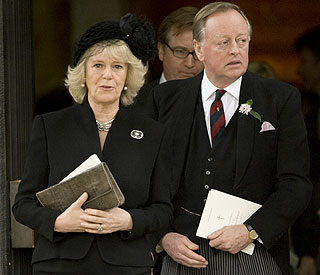 Camilla pays tribute to ex-husband's late wife Rosemary