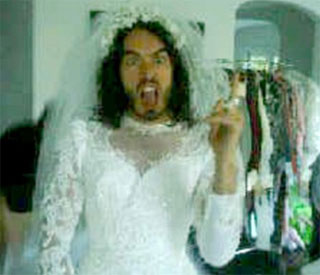 Katy Perry posts picture of 'Bridezilla' Russell Brand