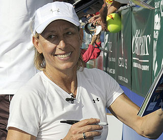 Tennis legend Martina Navratilova has breast cancer