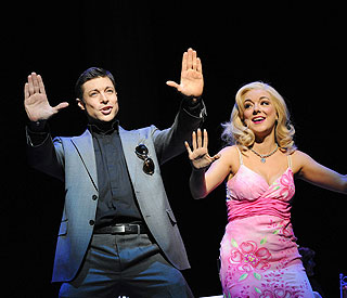 Duncan James calls time on Legally Blonde stint