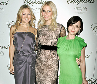 Kate, Gwyneth and Christina celebrate Chopard