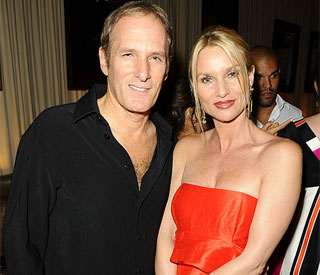 Michael Bolton's support for ex Nicollette Sheridan