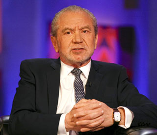 Sir Alan Sugar: 'I made my sons work at McDonald's