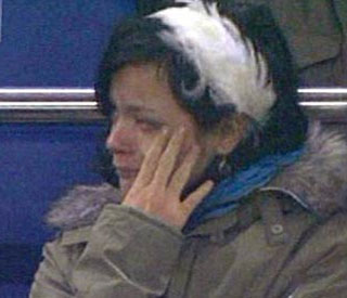 Lily Allen explains her tears at football match