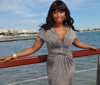 Dreamgirl Jennifer Hudson on fab form at Cannes