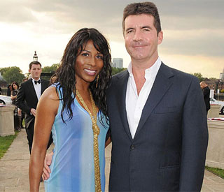 Ex Sinitta sad to see Simon Cowell get married