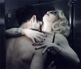 Madonna in passionate embrace for new ad