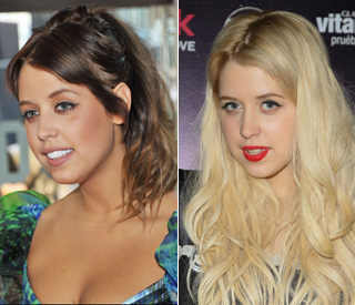 Peaches Geldof shows off dazzling new smile