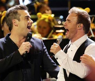 Robbie Williams and Gary Barlow to release duet
