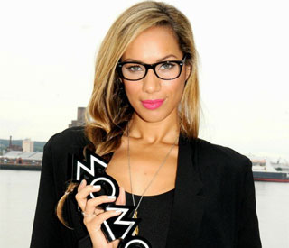 Specs appeal from Leona Lewis as she announces MOBO host