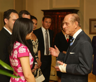Prince Philip continues agenda after hand surgery