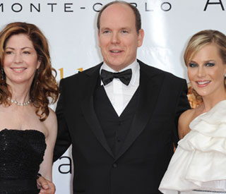 Prince Albert mingles with 'Desperate Housewives'
