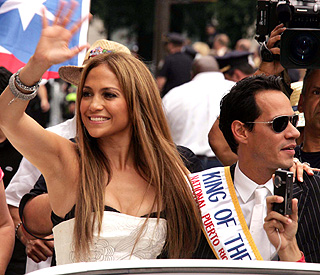 J Lo and Mark Anthony join Puerto Rico Day parade