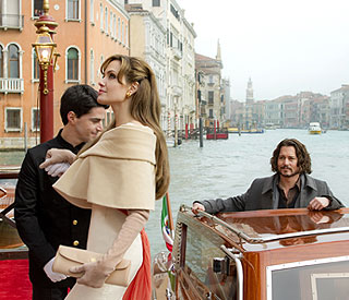 First photo of Johnny and Angelina's 'The Tourist'