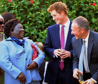 Prince Harry kicks off African tour in Botswana