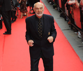A dapper Sean Connery at Edinburgh Film Festival