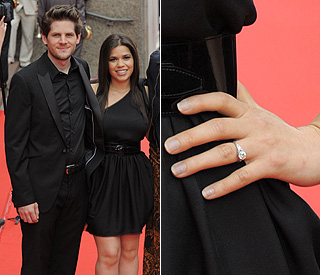 First look at America Ferrera's engagement ring