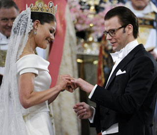Princess Victoria of Sweden marries Daniel Westling