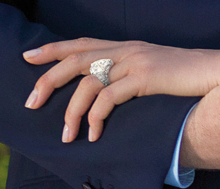 First look at Charlene Wittstock's engagement ring