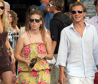 Beatrice and Dave enjoy summer of love in St Tropez