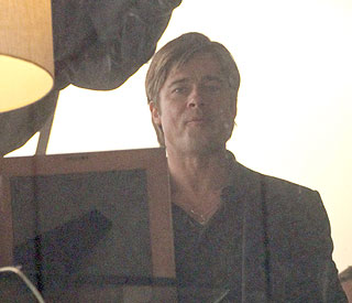 Brad Pitt says 'bye bye' to beard