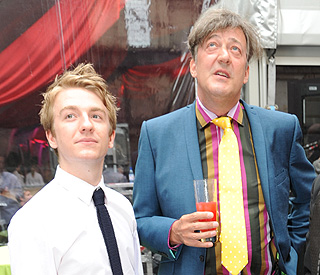 Stephen Fry splits with partner of 14 years