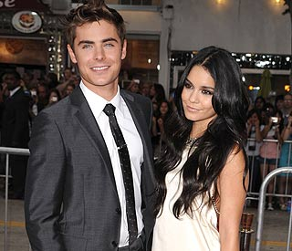 Zac Efron shows Vanessa his 'serious side'