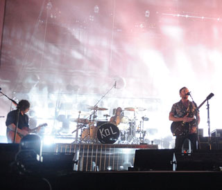 Pigeons cause flap at Kings of Leon gig