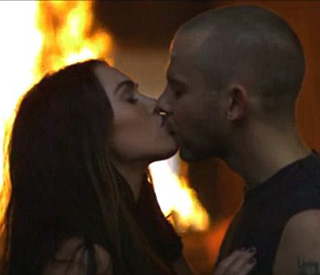 Dominic Monaghan rates kissing Megan Fox 'all right'