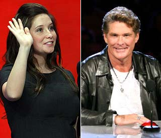 Bristol Palin and the Hoff to shake stuff on US 'Strictly'
